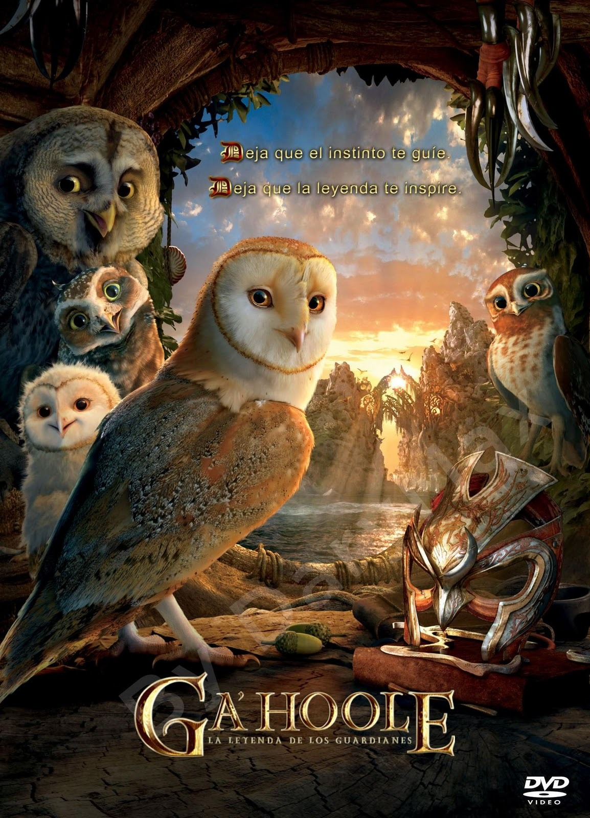 Legend of the Guardians (DVDRip Español Latino) (2010)