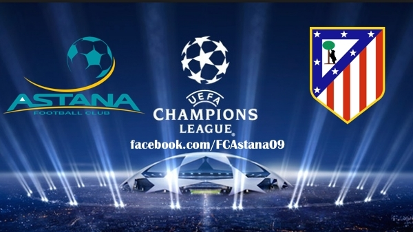 Donde ver Astana vs Atlético Madrid online Champions League