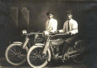 William Harley y Arthur Davidson. 1914