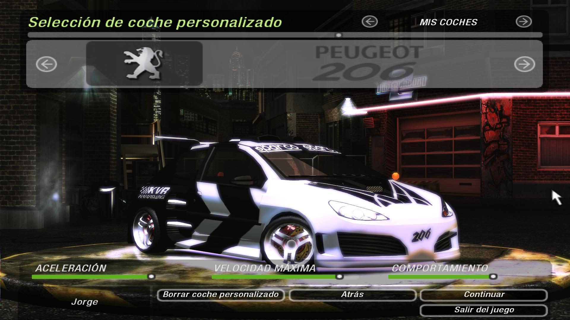 Hagamos top al mejor tuning need for speed underground 2 for Juego nfs most wanted