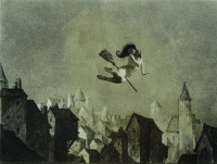William Mortensen. Off for the Sabbot 1927