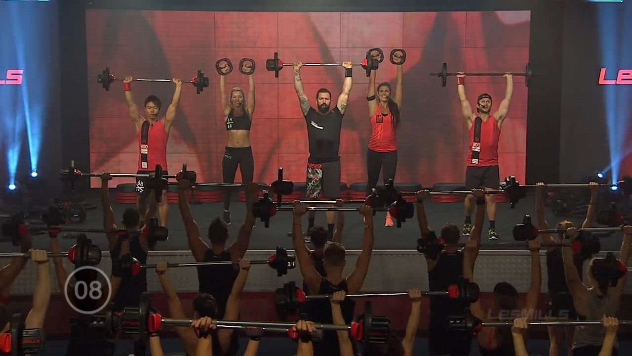 Les Mills Body Pump 96