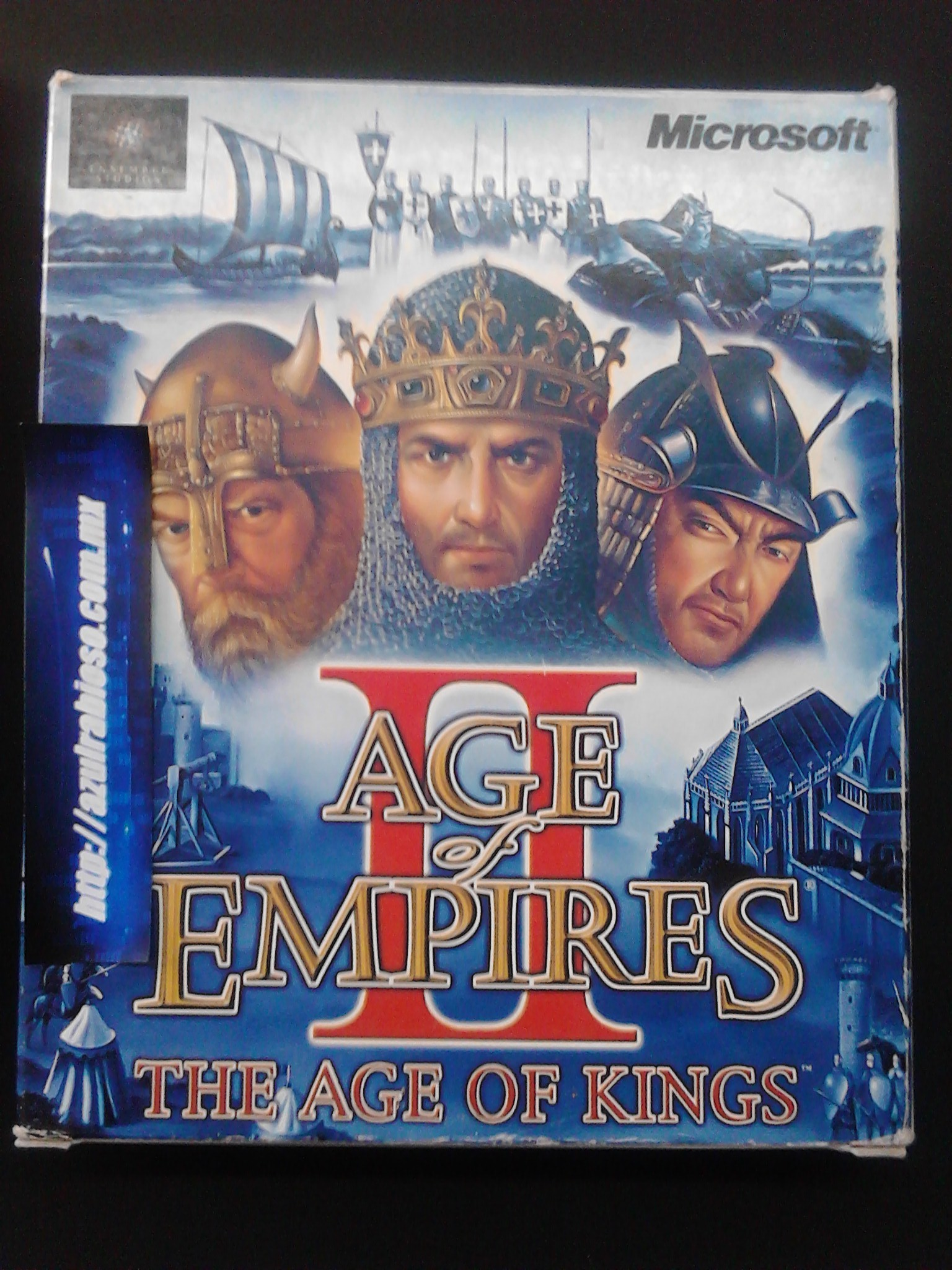 Age of Empires Ao Kings + Conqueros, Unboxing