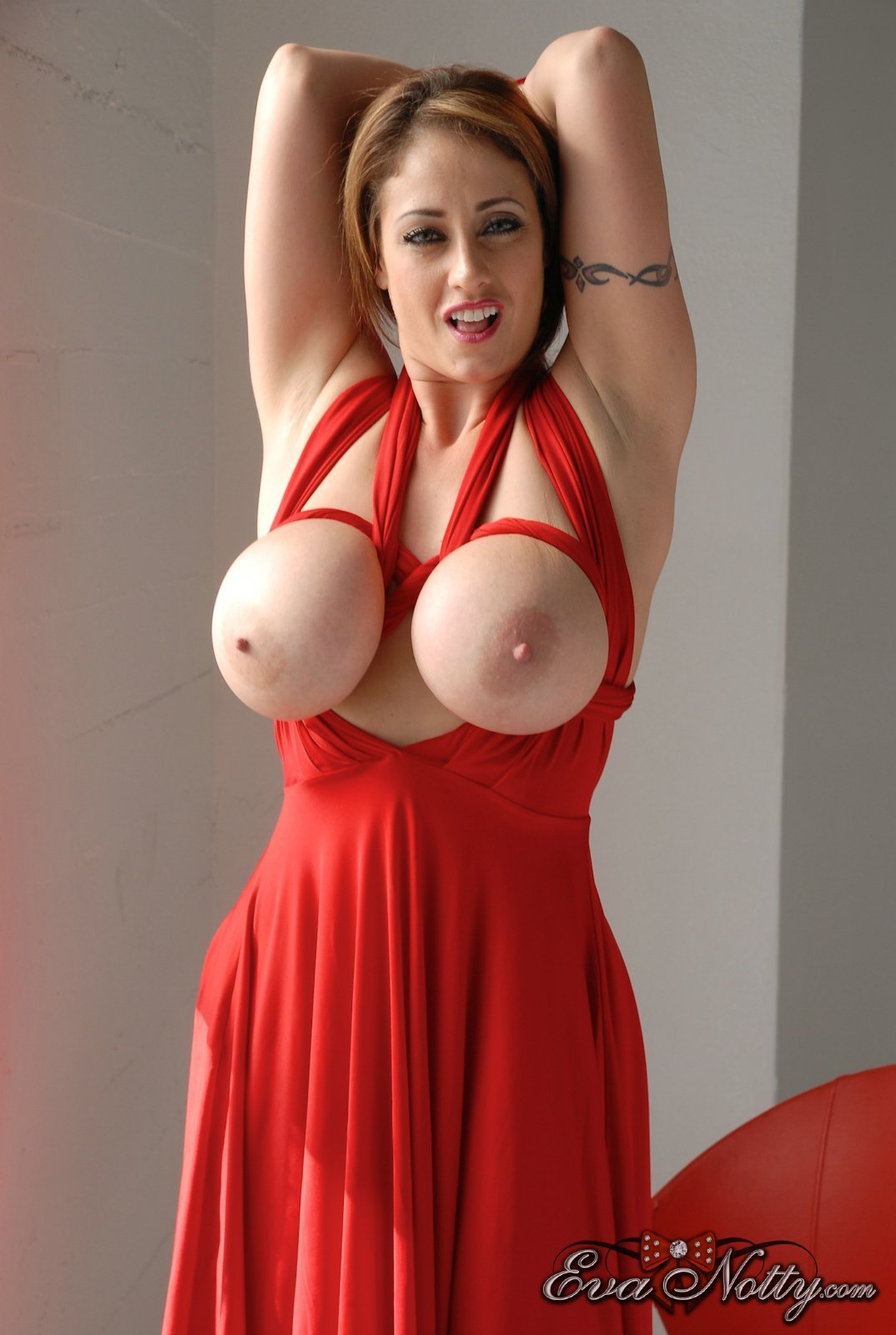 Thank big tits hanging out of tight dresses something is