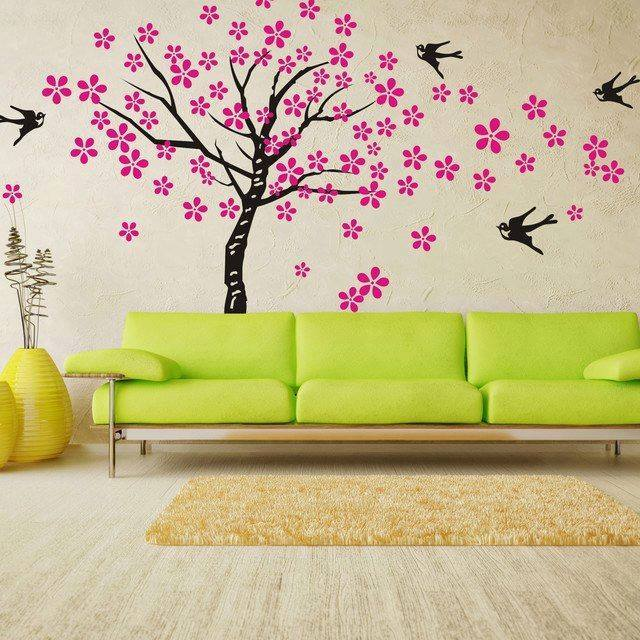 Romantic Bedroom Wall Stickers