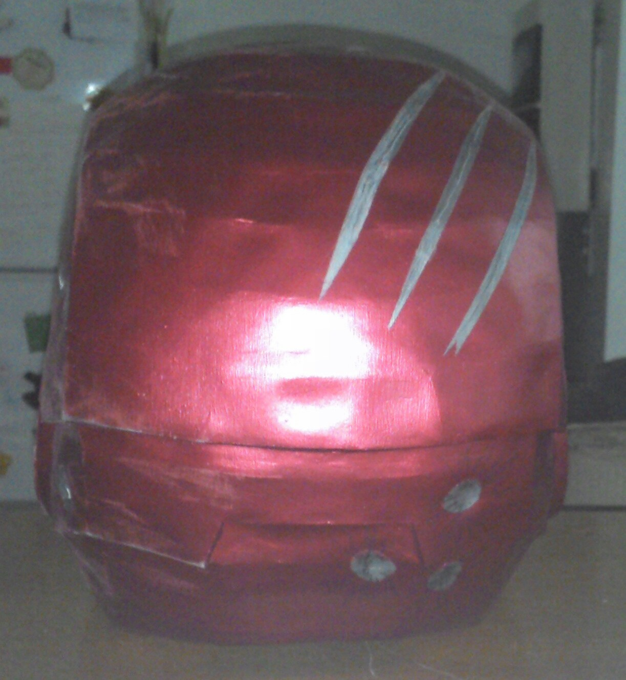 Casco Iron Man. Mark 3 en PaperCraft