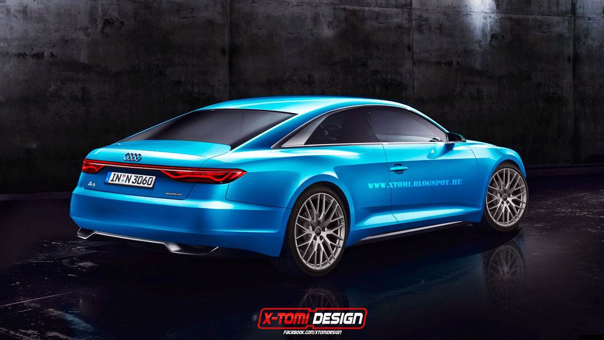 Audi prologue A9 Concept