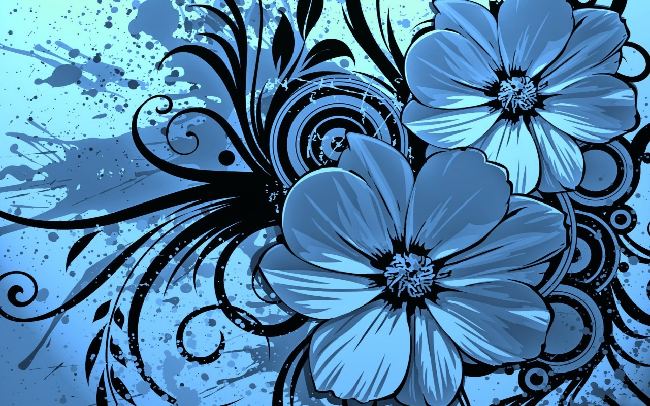 Wallpapers en color azul