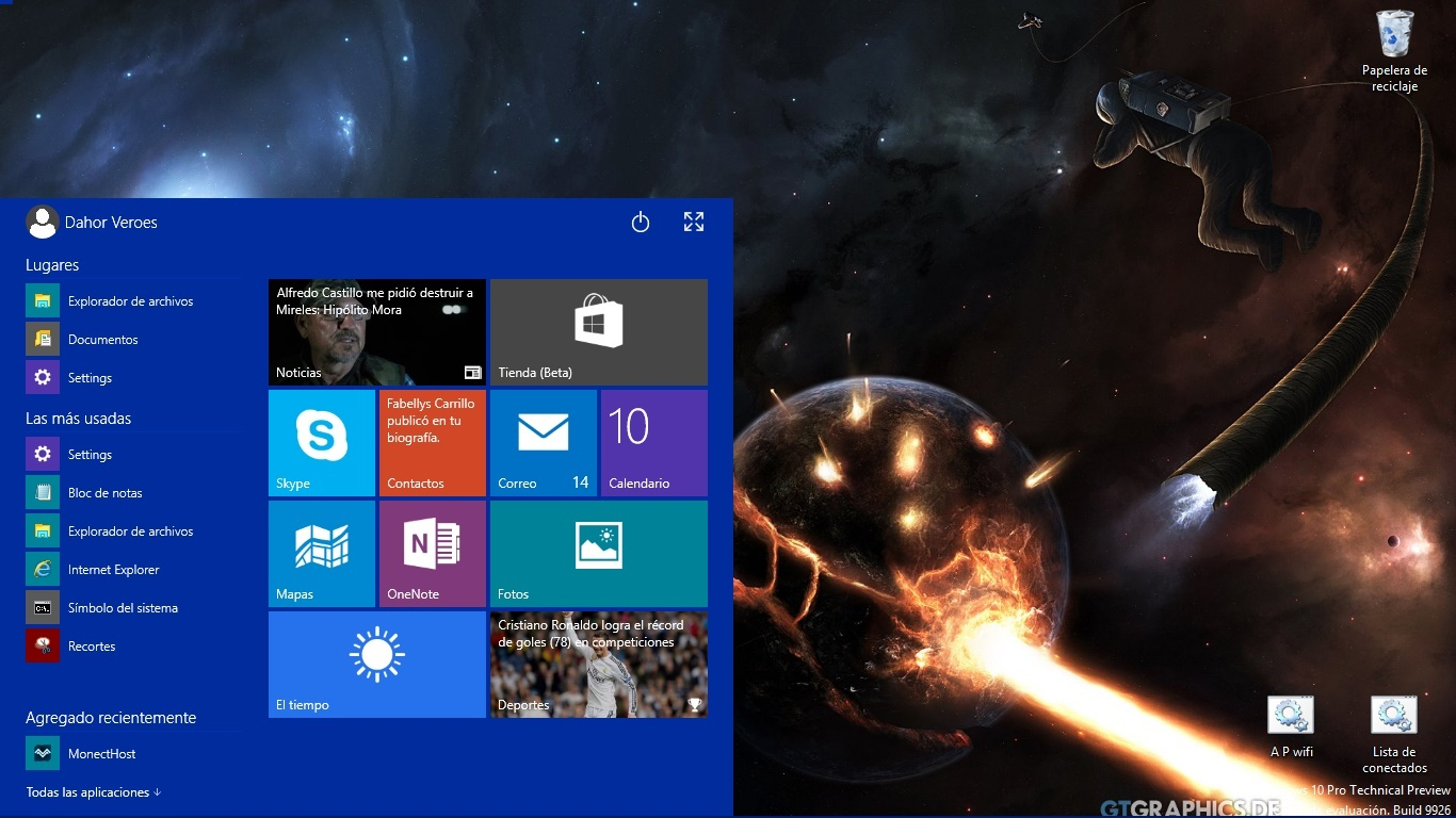 Windows 10 preview experiencia...