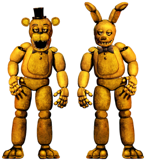 Fredbear y springtrap clasicos taringa for 1234 get on the dance floor ringtone