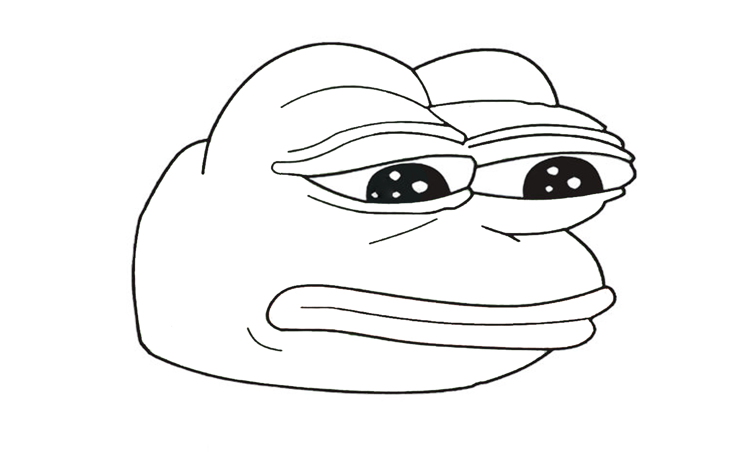 Meme Pepe The Frog Coloring Coloring Pages