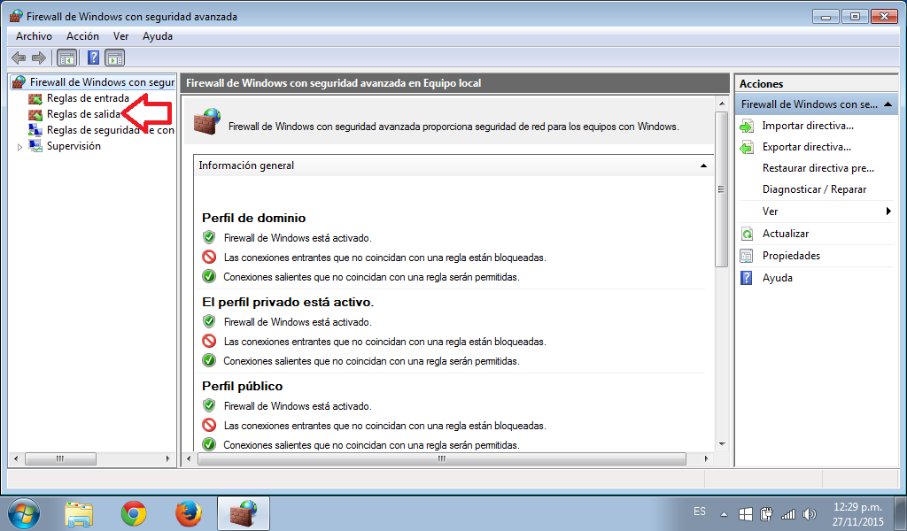 Bloquea paginas con tu firewall de windows.