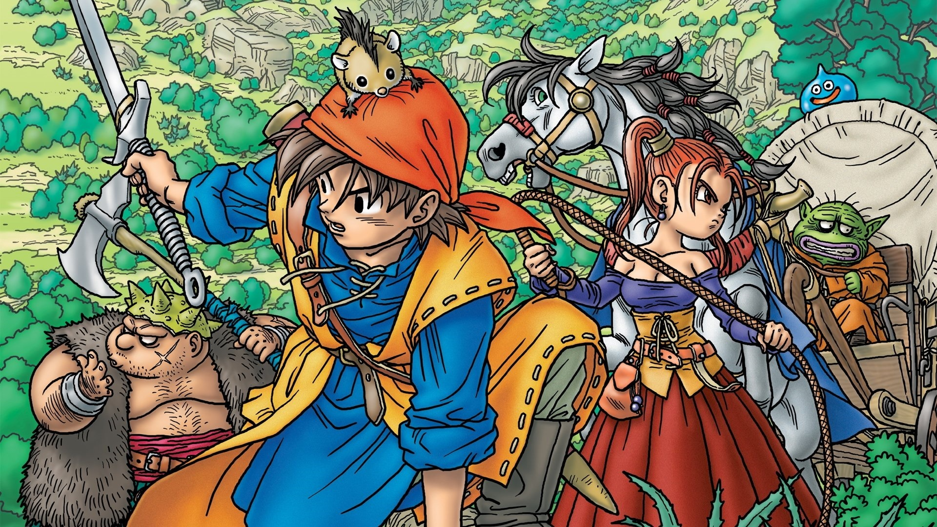 1- Dragon Quest X ll...