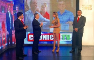mira voh  cronica tv se hace canal p0rno