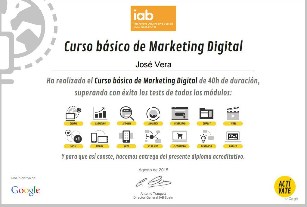IAB Spain ofrece curso gratis de marketing con certificado
