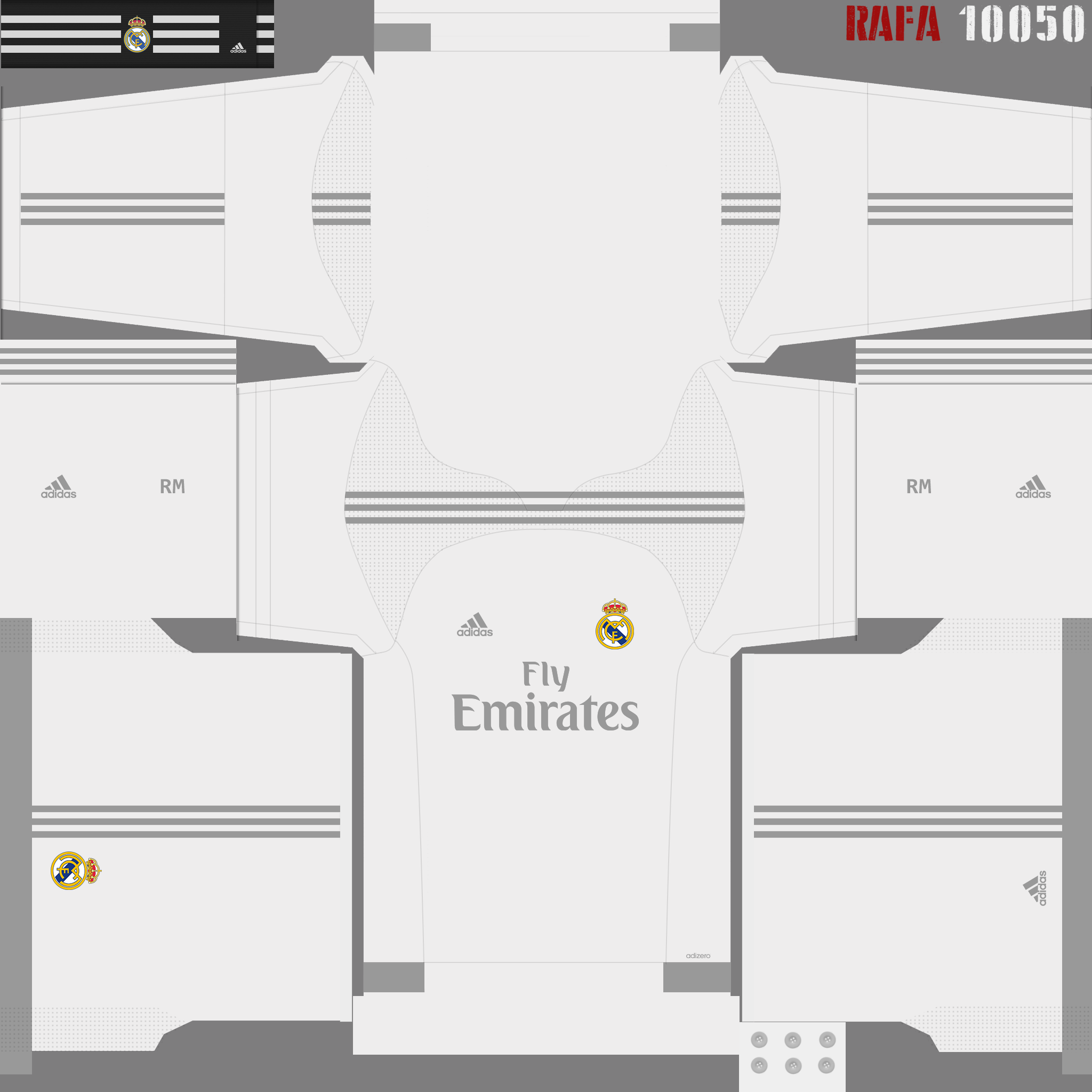 Kit Real Madrid Para Pes 2019