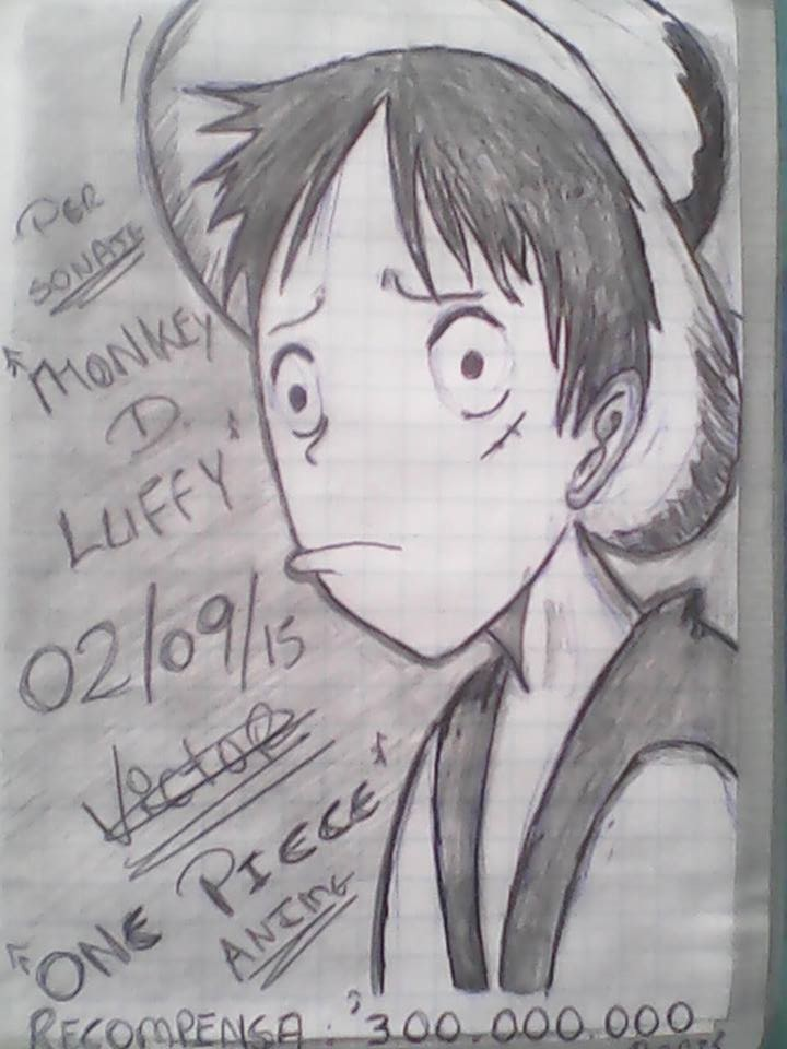 Dibujo de los 11 supernovas de one piece a lapiz arte for Dibujos one piece