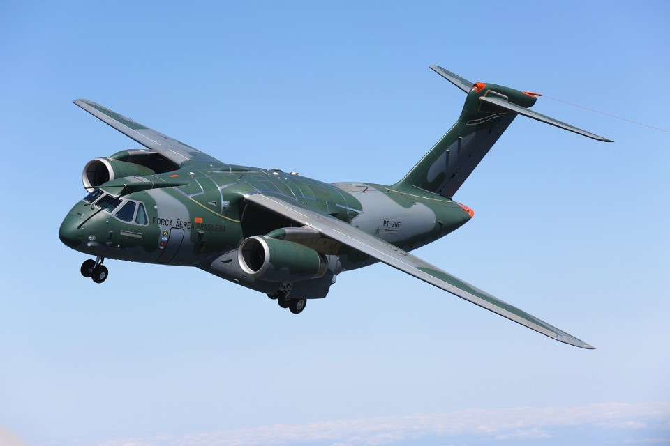Embraer KC-390 para la Real Fuerza Aérea Canadiense