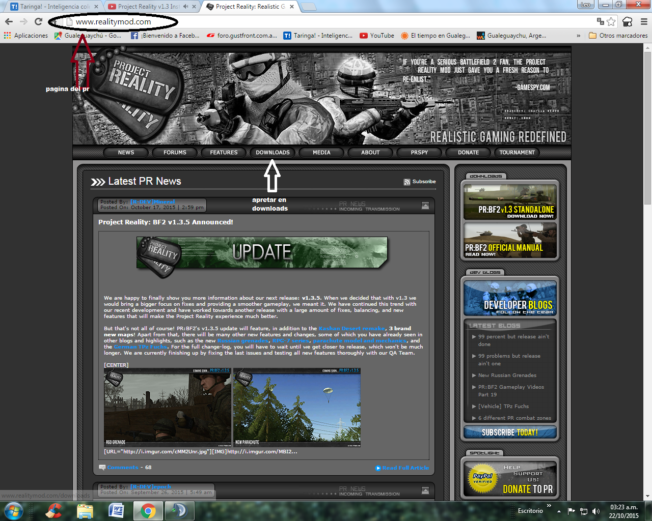 bf2 project reality Welcome to project reality: battlefield 2 (aka pr:bf2), a free to download game modification for the battlefield 2 (aka bf2) retail windows pc game the.