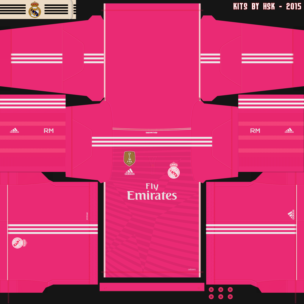 Kit Real Madrid Para Pes 2019: [Aporte] Kits Real Madrid