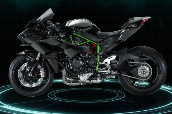 kawasaki ninja h2 turbo nueva autos y motos taringa. Black Bedroom Furniture Sets. Home Design Ideas