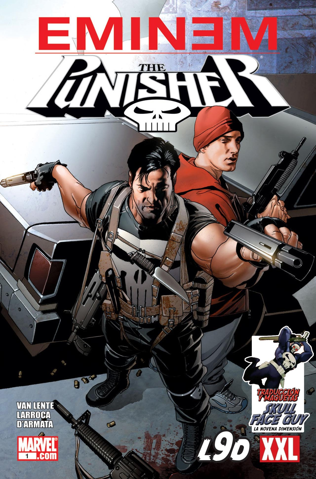 Comic Punisher & Eminem en español