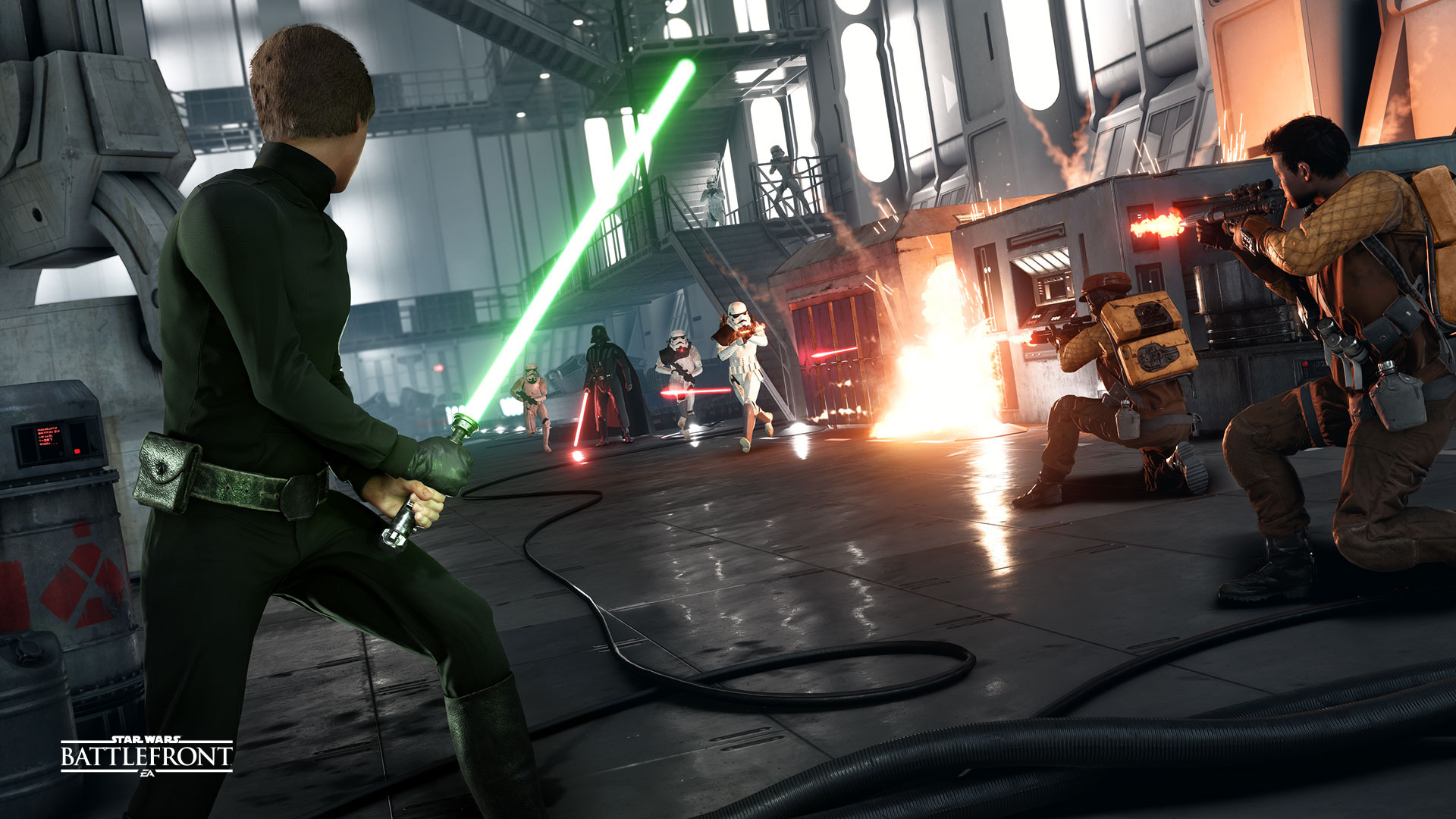 Star Wars Battlefront: PS4 vs XBox One
