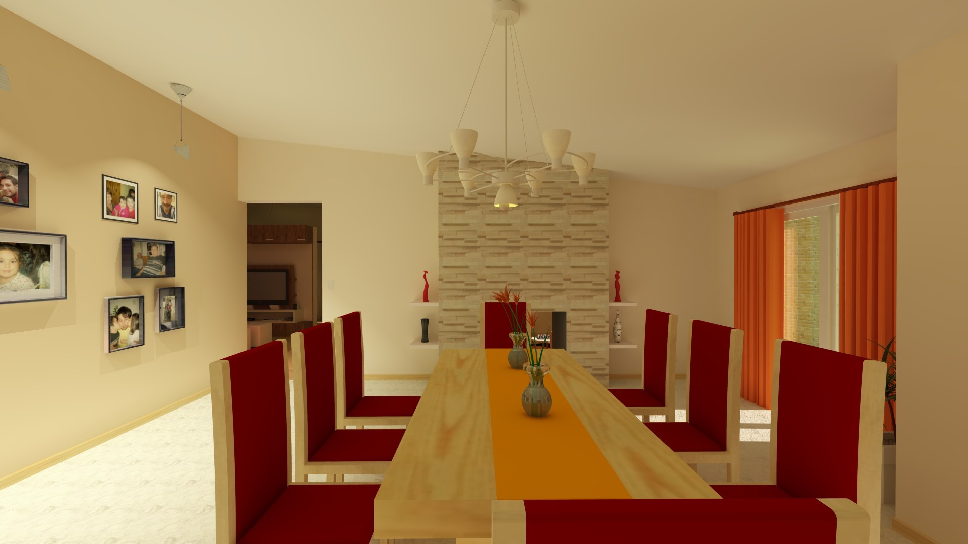 Dise o de interiores estar comedor arte taringa for Diseno de interiores hd